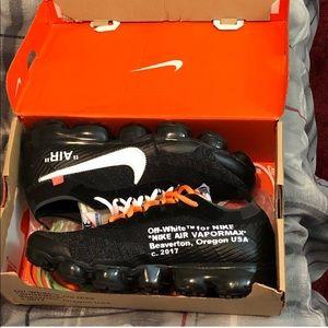 Off-White Shoes - Nike Vapormax Off-White Virgil Abloh Black